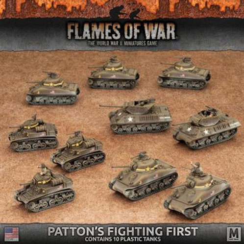 Flames Of War - Patton's Fighting First [USAB08]