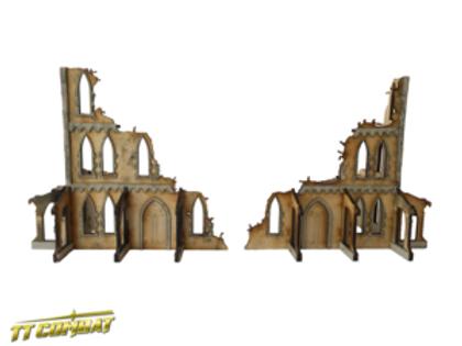 Gothic Corner Ruins A