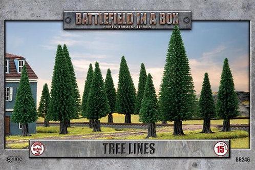 Flames Of War - Tree Lines (x4)