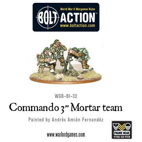 "British Commando 3"" Mortar Team"