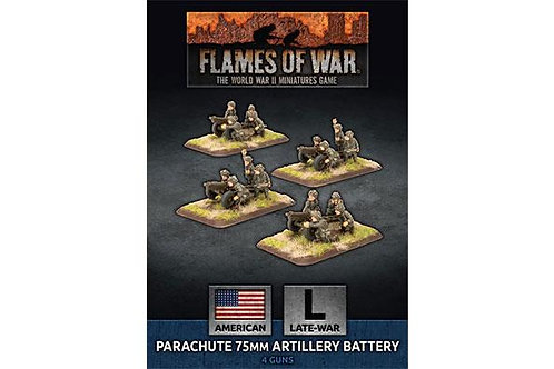 Flames Of War - Parachute 75mm Artillery Battery [UBX66]