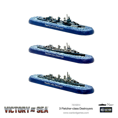 Victory At Sea: Fletcher Class Destroyers