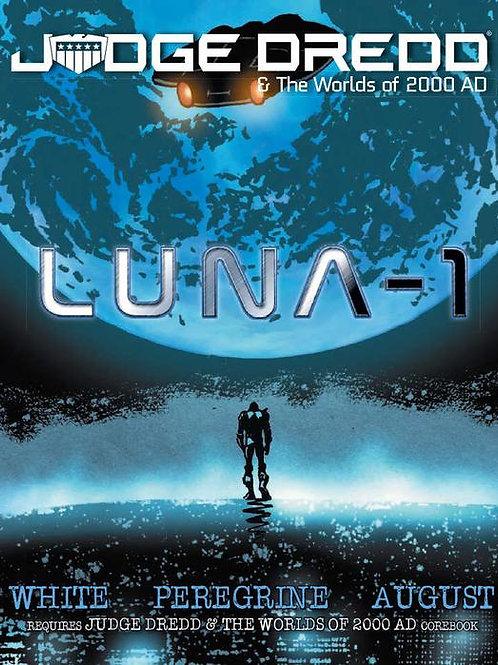 Judge Dredd & The Worlds Of 2000 AD: Luna-1 Supplement