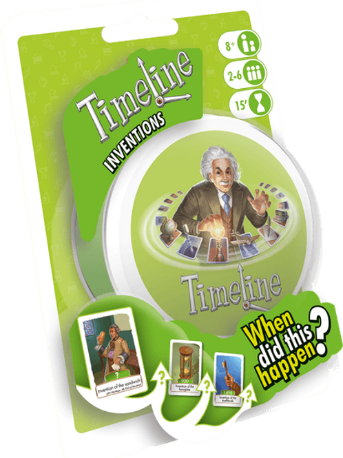 Timeline: Inventions (Eco Blister Pack)