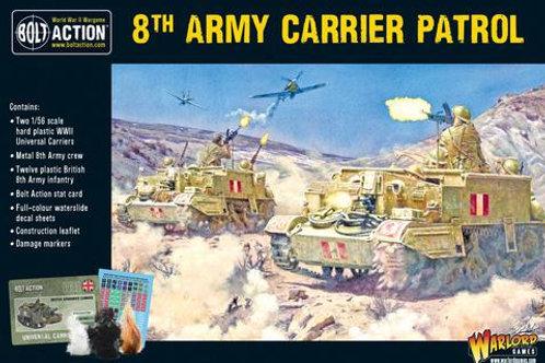 8th Army carrier patrol