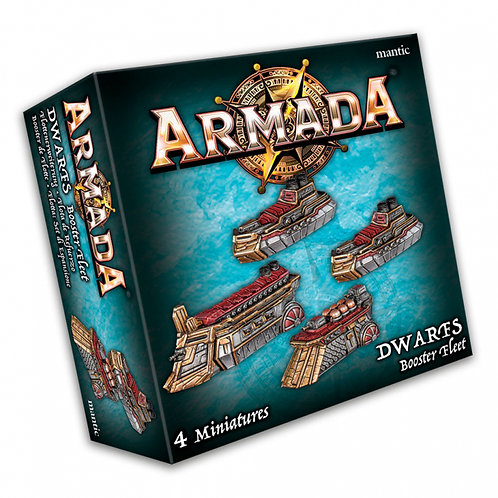 Kings Of War Armada Dwarf Booster Fleet