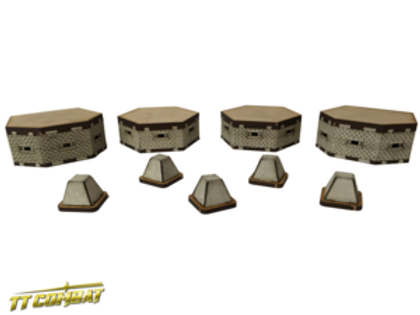 15mm Bunkers and Tank Traps