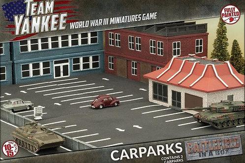 Team Yankee - Car Parks