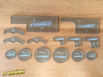 Warmachine Template Set