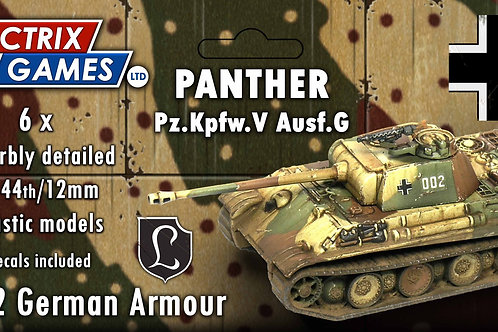 VICTRIX - 6 x Panther Ausf G (12mm/1:144)