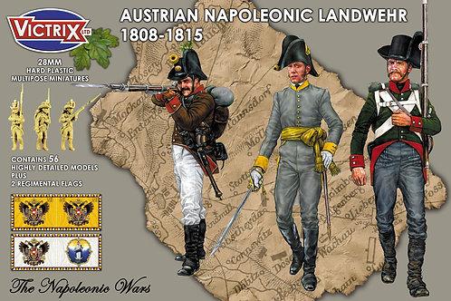 VICTRIX - Austrian Napoleonic Landwehr 1808-1815 (28mm)
