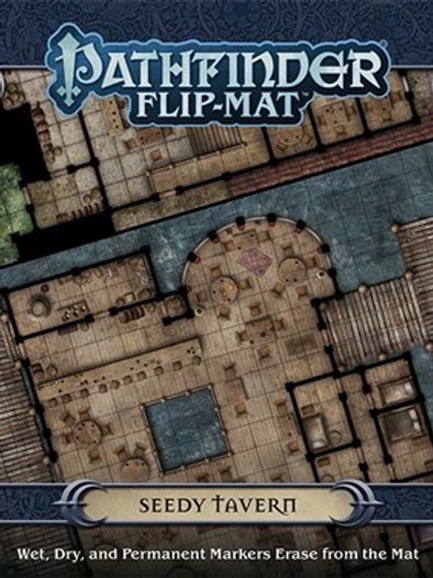 Pathfinder RPG: Seedy Tavern Flip-Mat