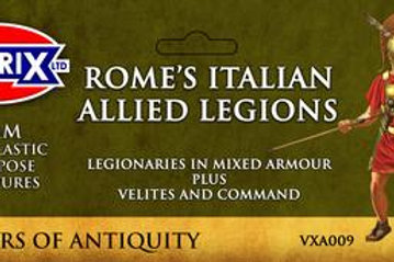 VICTRIX - 28mm Allied Legions in mixed armour plus Velites and Command