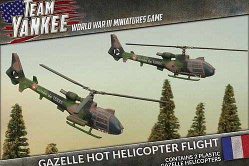Team Yankee - Gazelle HOT Helicopter Flight