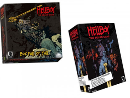 Hellboy The Board Game – Box Full of Evil + Wild Hunt