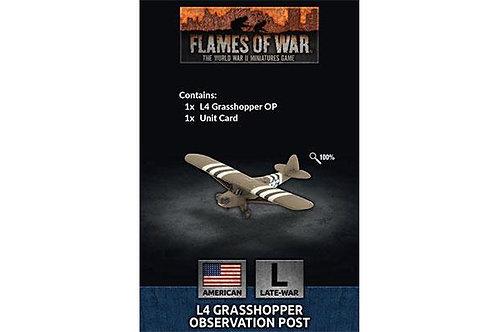Flames Of War - L4 Grasshopper Observation Post (x1) [US951]
