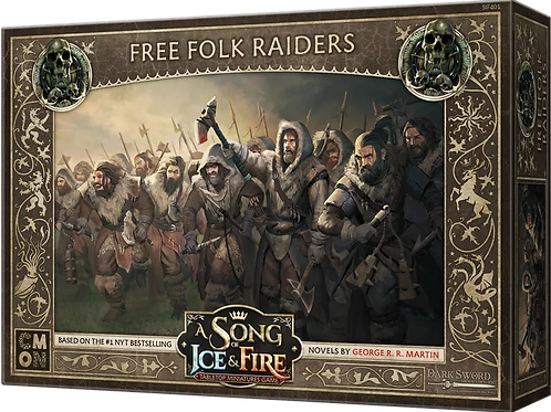 A Song Of Ice And Fire: Free Folk Raiders Expansion