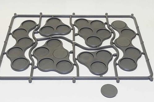 VICTRIX - Plastic Bases Set 10 (Skirmish movement trays for 20mm bases)