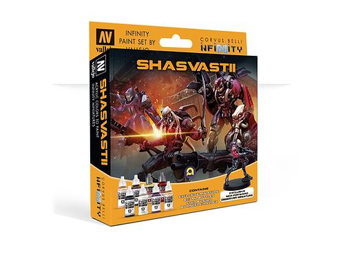 Model Color Set: Infinity Shasvastii Exclusive Miniature