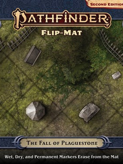 Pathfinder RPG: The Fall of Plaguestone Flip-Mat