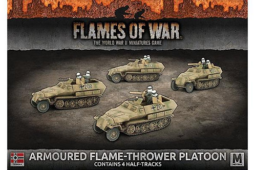 Flames Of War - Armoured Flame-Thrower Platoon