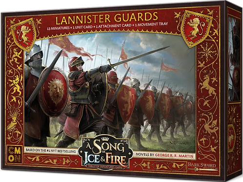 A Song Of Ice And Fire: Lannister Guards Expansion