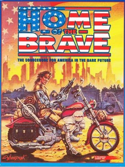 Cyberpunk 2020 RPG: Home Of The Brave Supplement