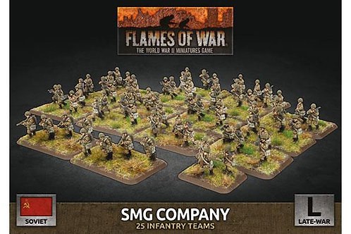 Flames Of War - LW Soviet SMG Company