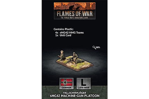 Flames Of War - Fallschirmjager HMG Platoon (L)