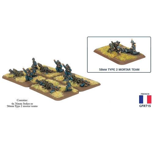 Trench Mortar Platoon (French)