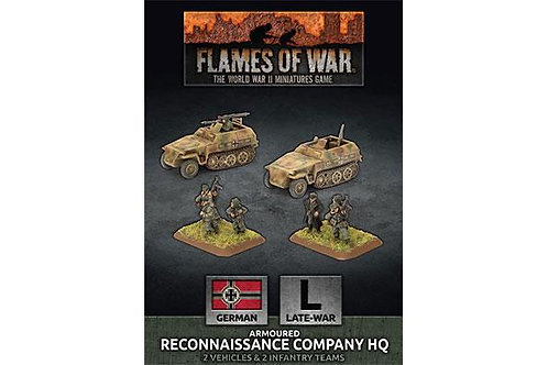 Flames Of War - Armoured Reconnaissance Company HQ