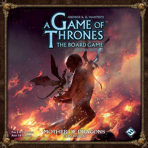 A Game Of Thrones The Board Game (2nd Ed) : Mother Of Dragons Expansion