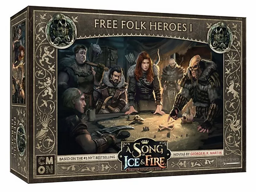 A Song Of Ice And Fire: Free Folk Heroes Box #1 Expansion