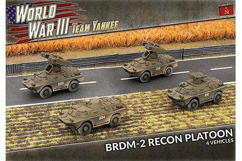 BRDM-2 Recon Platoon (Plastic)
