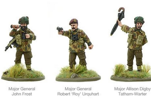 British Airborne Characters