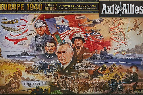 Axis & Allies Europe: 1940 (2nd Edition)