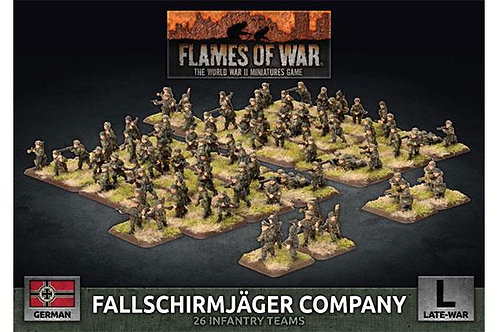 Flames Of War - Fallschirmjager Company
