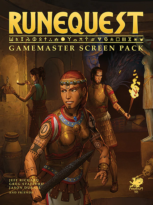 Runequest RPG: Gamemaster Screen Pack