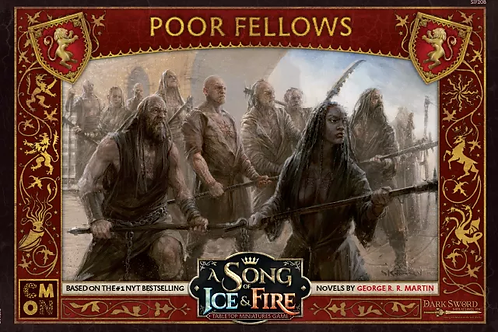 A Song Of Ice And Fire: Lannister Poor Fellows Expansion