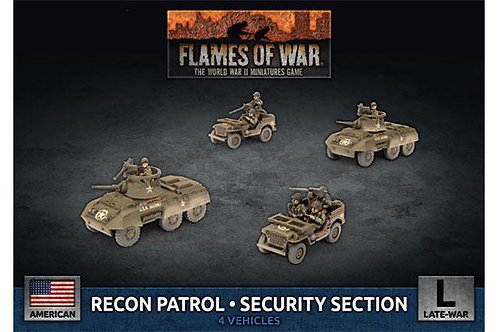 Flames Of War - Recon Patrol Security Section [UBX79]