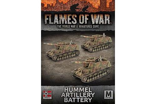 Flames Of War - Hummel Artillery Battery