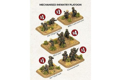 Team Yankee Oil War - Iranian Mechanised Infantry Platoon