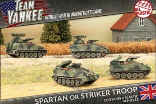 Team Yankee - Spartan or Striker Troop