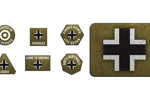 Flames Of War - German Late War Tokens and Objectives