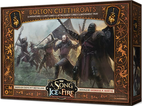 A Song Of Ice And Fire: Bolton Cutthroats Expansion
