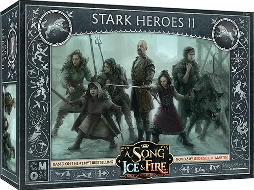 A Song Of Ice And Fire: Stark Heroes Box #2 Expansion