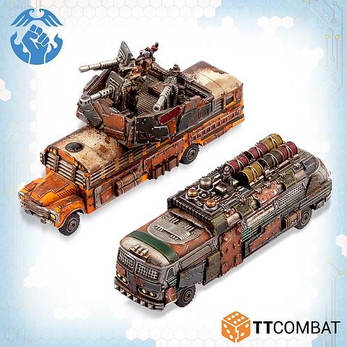 Battle / Remote Bomb Buses