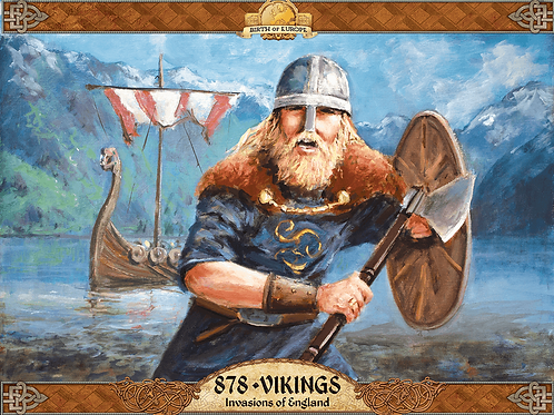 878 Vikings Invasion Of England (2nd Edition)