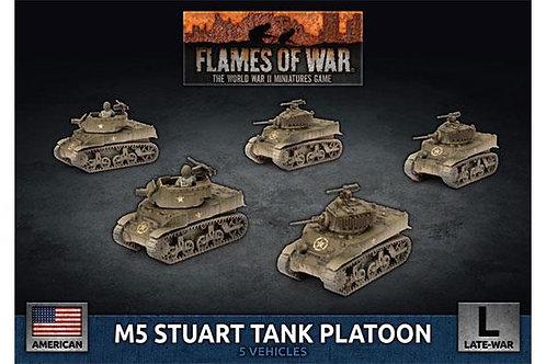 Flames Of War - M5 Stuart Tank Platoon [UBX70]