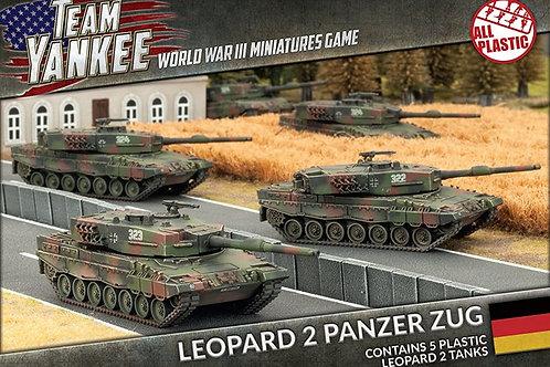 Team Yankee - Leopard 2 Panzer Zug (Plastic)